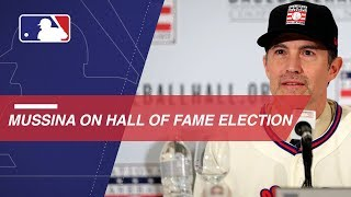 Mike Mussina on being elected to the Hall of Fame