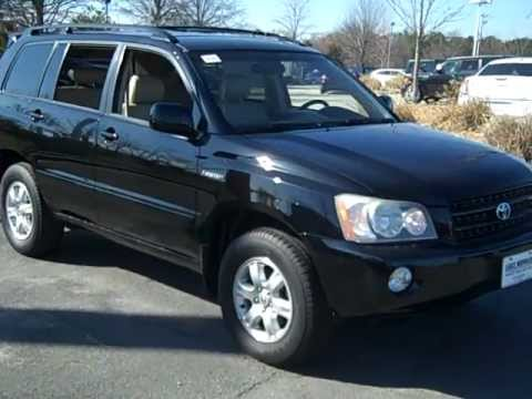 Used 2002 Toyota Highlander In Charlotte, NC | Lake Norman Chrysler Jeep  Dodge