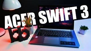 Acer Swift 3 | Имиджевый ноутбук за недорого (относительно, конечно)