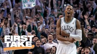 Should ray allen be invited to celtics' 10-year championship anniversary? | first take | may 9, 2017