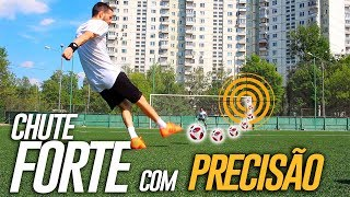 TUTORIAL CHUTE FORTE COM PRECISÃO! (Power shoot with precision) {BZK} 4K Feat. Alexey Gurkin e Zani