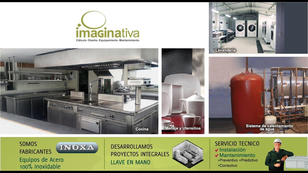 Equipamiento de cocina en Perú / Imaginativa Comercial - YouTube