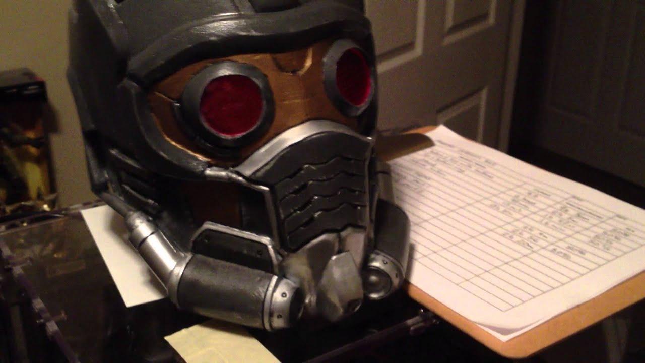 Top Star Lord helmet - YouTube QG49