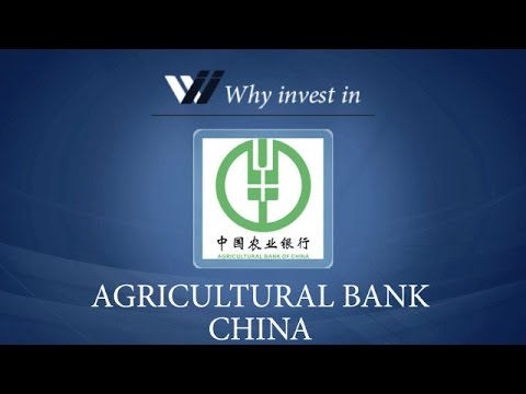 Agricultural Bank China - Why invest in 2015