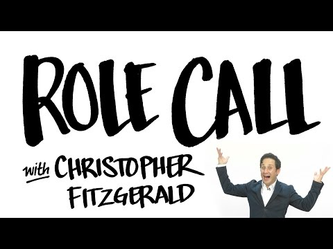 Role Call with Christopher Fitzgerald (WAITRESS, WICKED, CHICAGO, Williamstown Theatre Festival)
