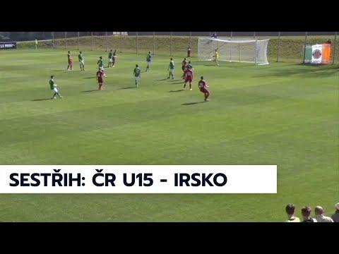 U15: Pět gólů v přípravném utkání proti Irsku