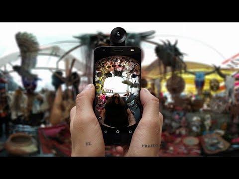 Experimentando FOTOS 360 en TEPITO!!! | CARE