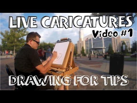 Live Caricature #1