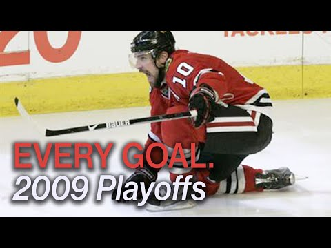 Every 2009 Playoff Goal by the Chicago Blackhawks