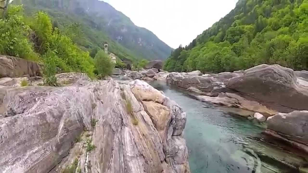 Verzasca river photo