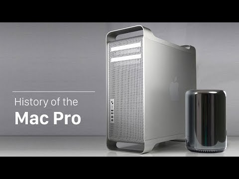 History of the Mac Pro