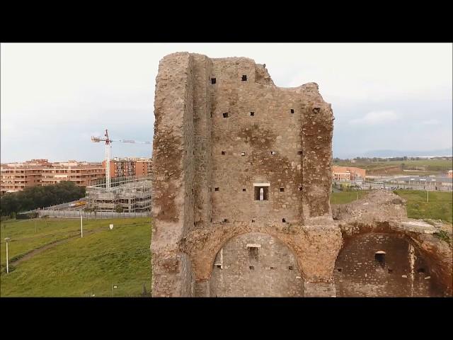 Video Ricognizione Aerea - Archeologia - Tor Chiesaccia - Roma - Via Laurentina