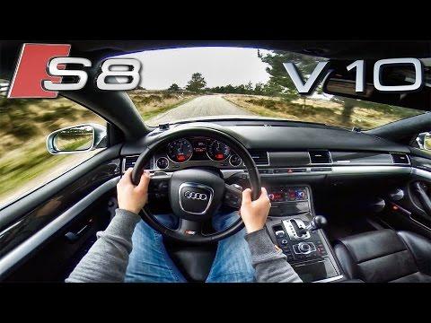 Audi S8 V10 POV Test Drive 5.2 FSi & SOUND