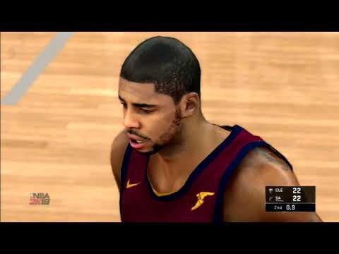 NBA 2K18 PS3 Gameplay Cleveland Cavaliers Vs San Antonio Spurs