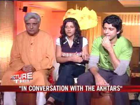 Farhan, Zoya, Javed get candid