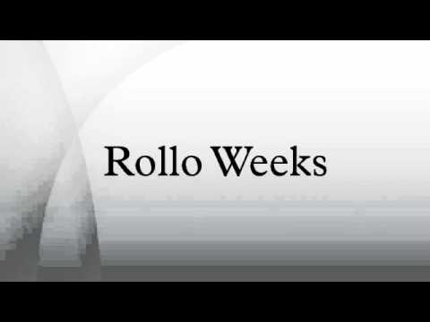 Rollo Weeks