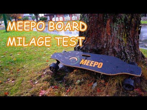 Meepo Board - max distance test