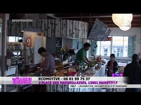 L'écomotive, un café écolo et insolite (Marseille)