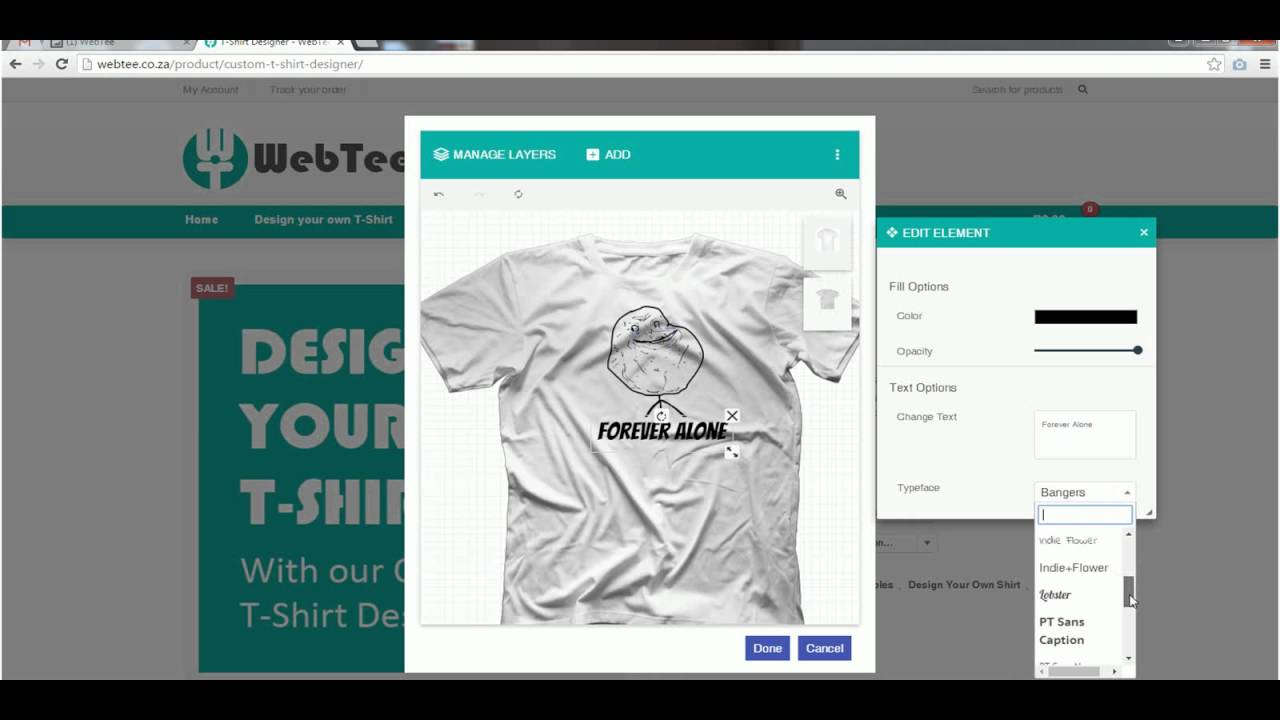 Create your own Classic Meme T-Shirt - YouTube