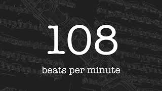 Metronome 108 BPM