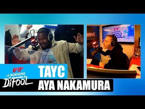 Youtube: Tayc parle de sa relation avec Aya Nakamura! #MorningDeDifool