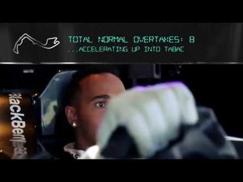 Monaco: On Board with Lewis Hamilton in the F1 Simulator!