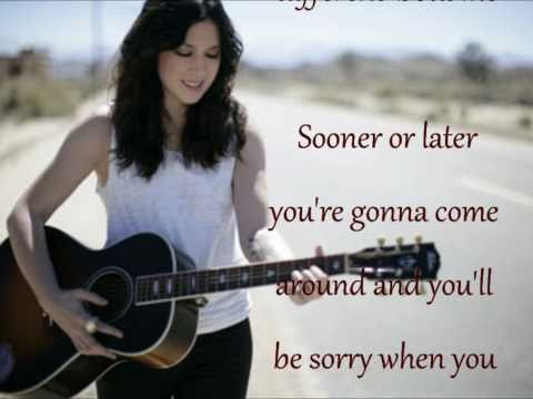 Michelle Branch - Sooner or Later lyrics