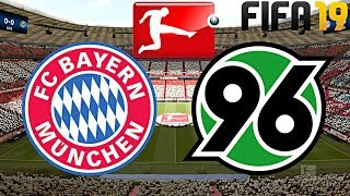 FIFA 19 | FC BAYERN MÜNCHEN vs. HANNOVER 96 | BUNDESLIGA ◄FCB #56►