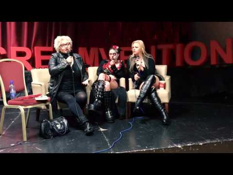 Screamvention WIHM Panel w/ Hellraiser's Barbie Wilde, Jessica Cameron, Heather Dorff (2 of 2)