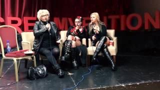 Screamvention WIHM Panel w/ Hellraiser's Barbie Wilde, Jessica Cameron, Heather Dorff (2 of 2)