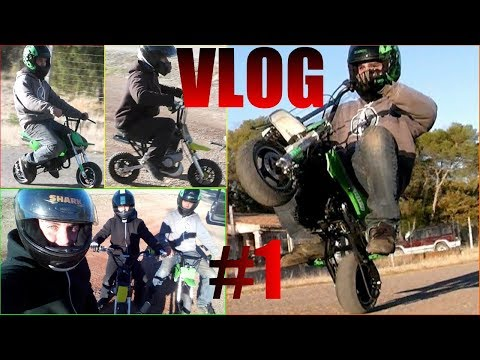 VLOG POCKET BIKE/CROSS - WHEELING - IL CASSE MA MOTO !