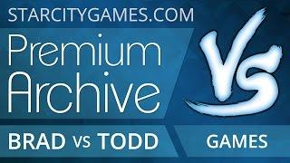 StarCityGames Premium Archive - 2/13/15 - Brad Nelson vs Todd Anderson [Magic: the Gathering]