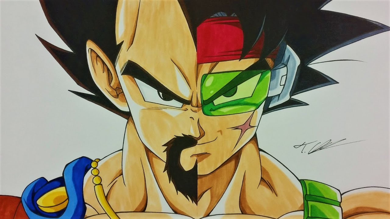 Drawing KING VEGETA | BARDOCK | Dragonball Z | TolgArt ...