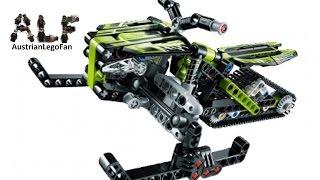 Lego Technic 42021 Snowmobile / Schneemobil - Lego Speed Build Review