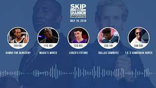 UNDISPUTED Audio Podcast (7.18.18) with Skip Bayless and Shannon Sharpe | UNDISPUTED