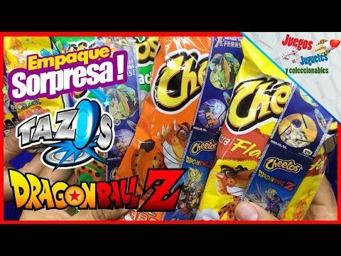 Empaque Sorpresa Tazos Dragon Ball Z ★ juegos juguetes y coleccionables ★