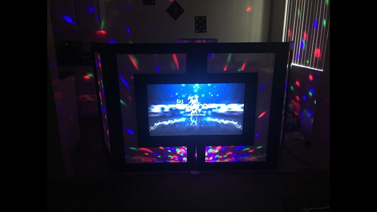 Diy Tv Facade Dj Booth Youtube