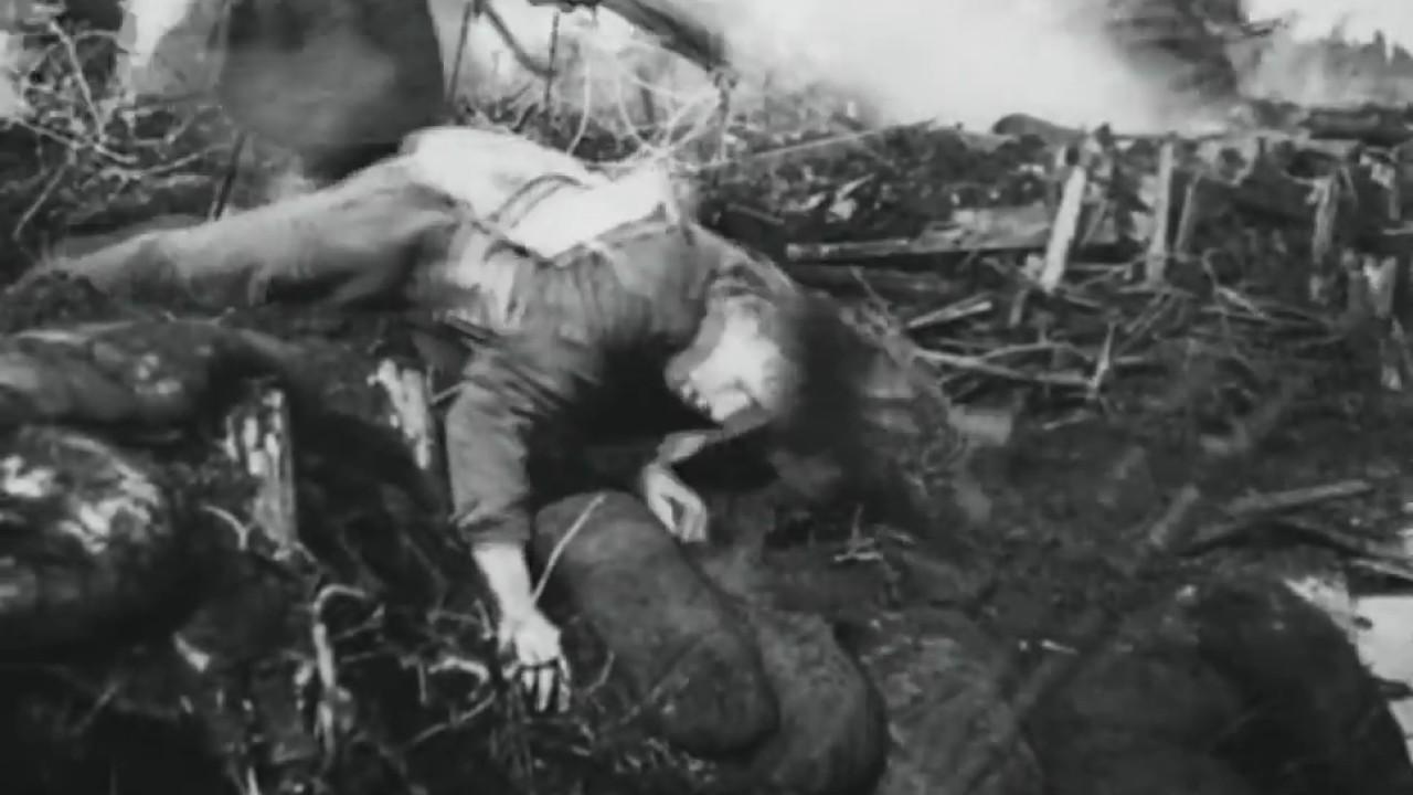 Realistic WW1 battle sounds (creeping barrage)