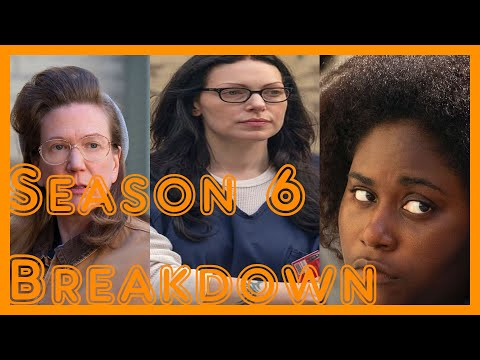 ORANGE IS THE NEW BLACK SEASON 6 IN UNDER 7 MINUTES - DaleChips