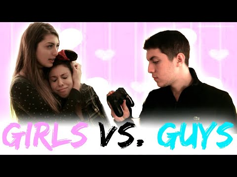 Thumbnail: Valentines Day Guys Vs. Girls!