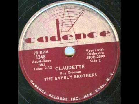 EVERLY BROS  Claudette   MAY '58