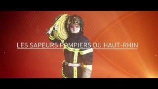 SDIS 68 clip bravo les pompiers 2015