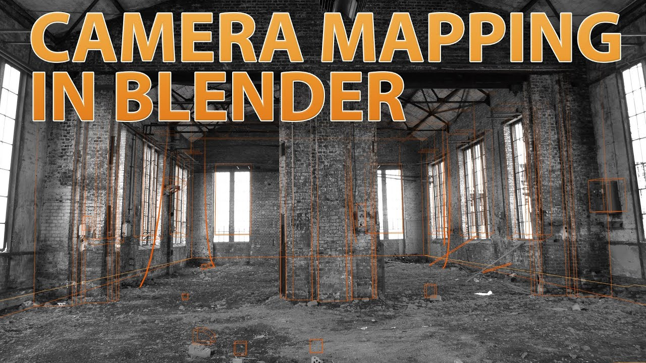 How to do Camera Mapping — Blender Guru Camera Mapping on