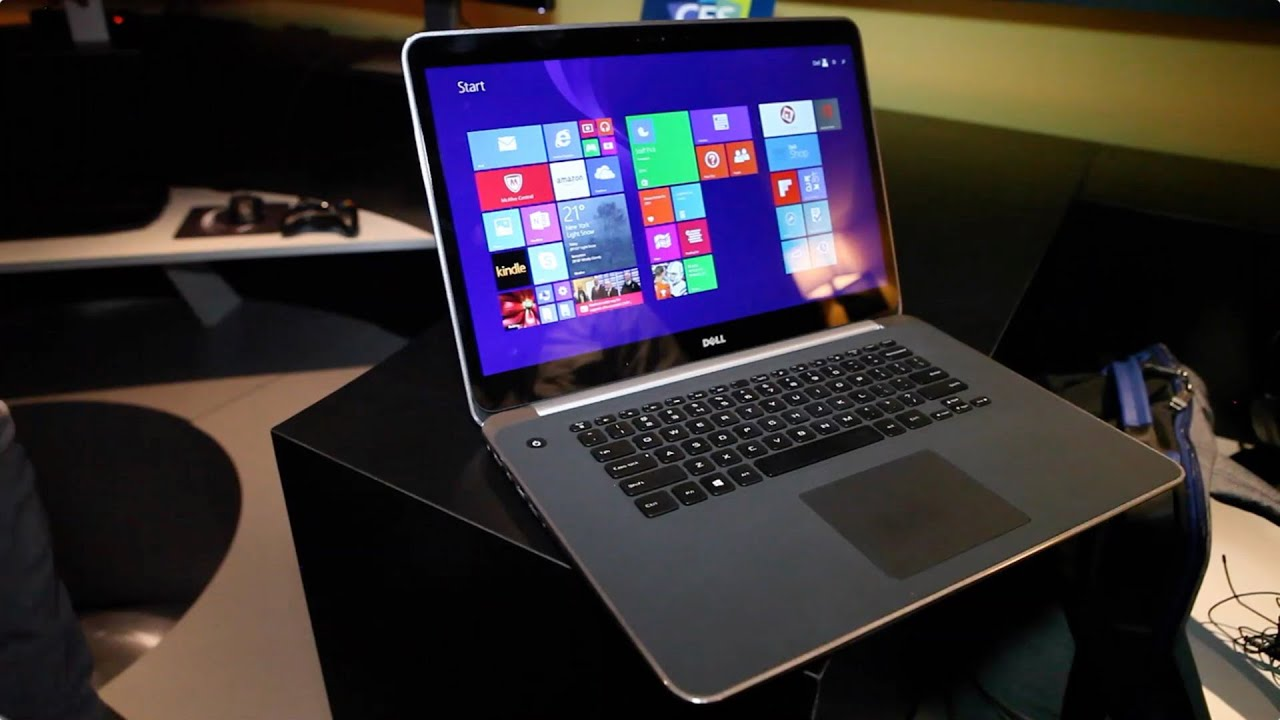 Dell XPS 15 with 4K Ultra HD hands-on from CES 2015 - YouTube