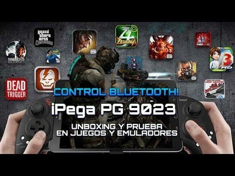 Control Desplegable iPega PG - 9023 - Android - iOS - Bluetooth - Unboxing y Prueba - Gearbest
