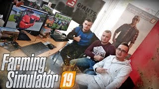 Farming Simulator 19 w Siedzibie GIANTS Software | MafiaSolecTeam [MST]