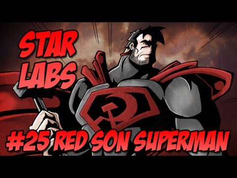 Star Labs #25 Red Son Superman - Injustice Gods Among Us