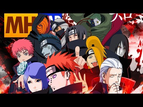 AKATSUKI (Naruto) | GANG REAL | Style Trap | MHRAP [Prod. Ihaksi]