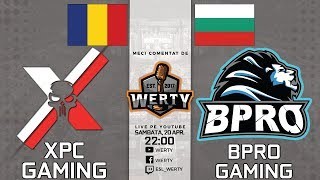 (RO CS:GO) XPC GAMING (RO) vs. BPRO GAMING (BG) - FINALA 2 QUALIF. EBL $25,000