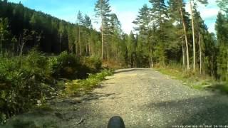 14490012  FLY6  Hakavika - Eidsfoss, grusvei.  01.09.16